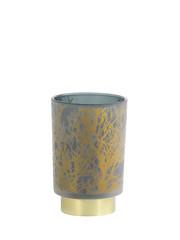 Light & Living Tafellamp LED Ø10x12,5 cm BRANCH glas donker groen-goud