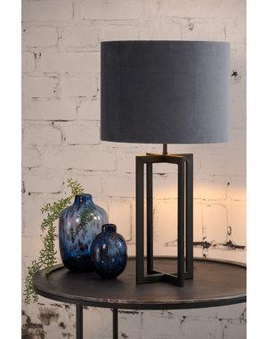 Light & Living Lampvoet 21x21x46 cm MACE mat zwart