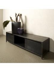 Tower Living TV meubel Paterno Mango zwart 145 cm