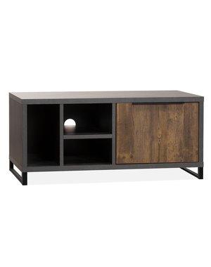 Maxfurn TV meubel Parker Onyx met Mokka 112 cm