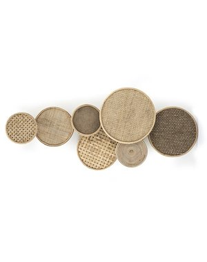 By Boo Ornament Round & round - natural