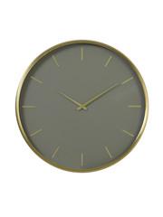 Light & Living Klok Ø51x3 cm TIMORA groen bruin