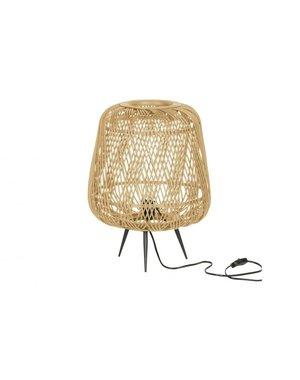 Moza tafellamp bamboe naturel