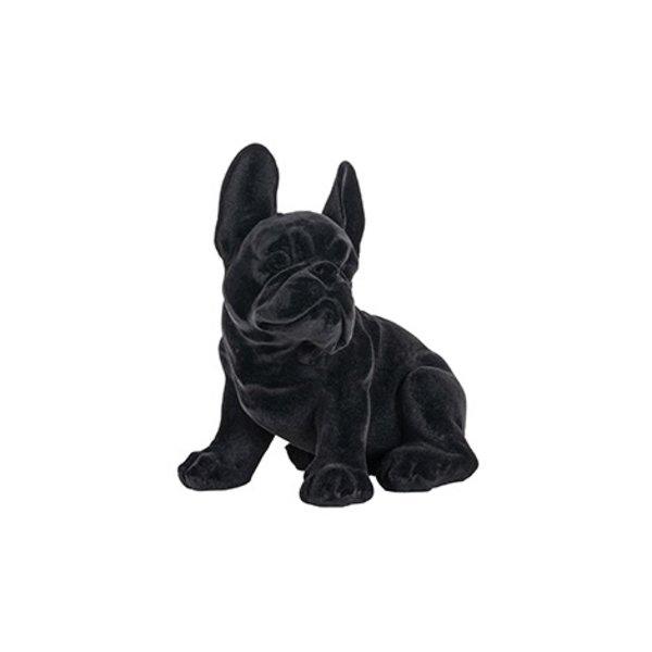 Richmond Interiors  Decoratief beeld hond Miro zwart
