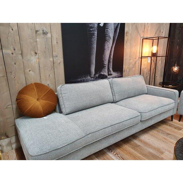 Maxfurn Bank Fashion 3 zits arm rechts met gestoffeerd element