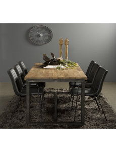 Tower Living Eettafel Potenza teak 210 x 100 cm * Showroommodel