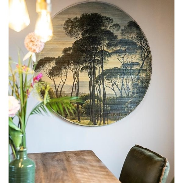 By Boo Wanddecoratie Morita Bos - Large