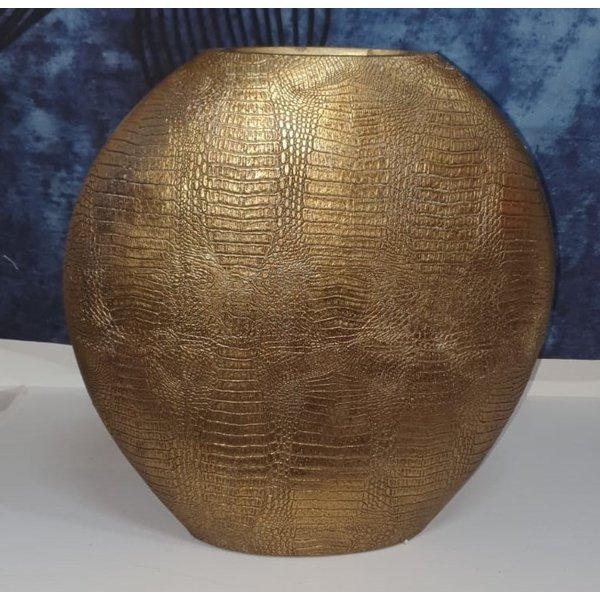 Light & Living Vaas deco 50x15x50 cm SKELD antiek  brons