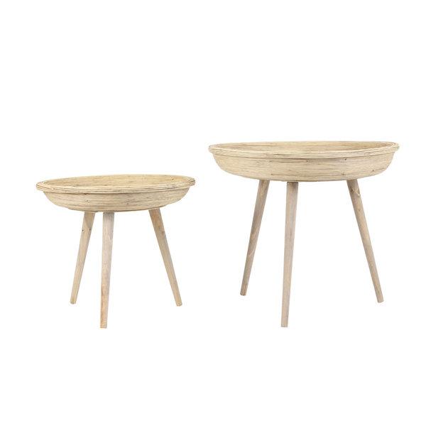 Light & Living Eettafel MIMOSO acacia hout-antiek brons - Copy