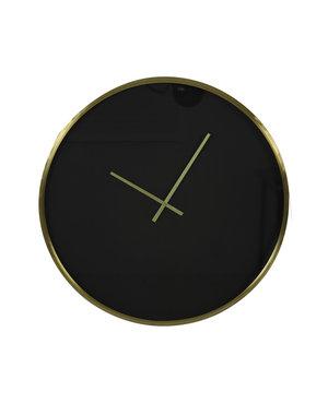 Light & Living Klok Ø41 cm SEPONI zwart-goud