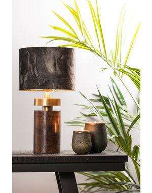 Light & Living Lampvoet Ø12x28 cm BARATA hout bruin-antiek brons