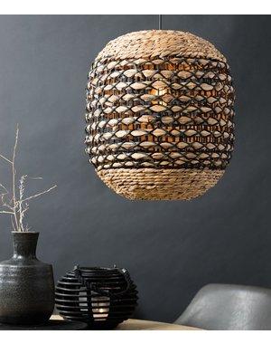 Light & Living Hanglamp TRIPOLI rotan naturel+wit of naturel + zwart