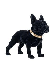 Richmond Interiors  Decoratief beeld Dog Spike zwart