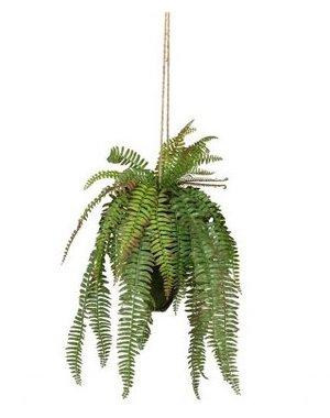 Varen hangende kunstplant groen 58cm