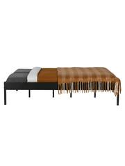 Woood Pepijn Bed Metaal Zwart 160x200 Cm