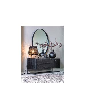 Woood Renna Vloerkleed Zwart/wit 155x230cm