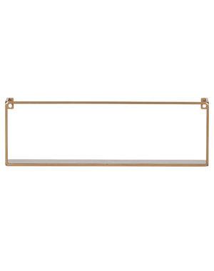 Woood Meert Wandplank Goud 50cm