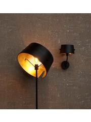 Woood Pien Wandlamp Metaal Zwart