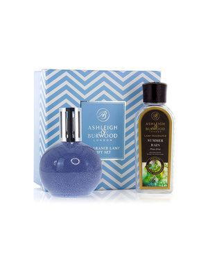 Ashleigh & Burwood Geurlamp A Blue Speckle + Summer Rain Oil