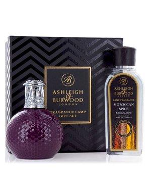 Ashleigh & Burwood Geurlamp Damson in Distress + Moroccan Spice