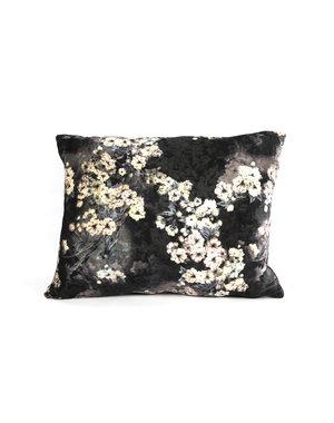 Countryfield Kussen Bloemen Carola S zwart