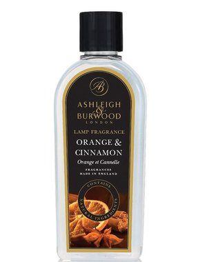Ashleigh & Burwood Geurlamp olie Orange & Cinnamon 250 ML