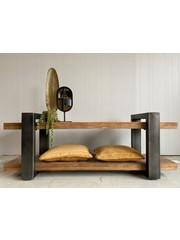 Eleonora TV meubel mango zwart - in 2 maten