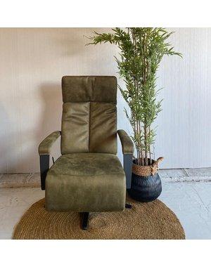 Releazz Relaxfauteuil  OF-126 M, Stof Bull moss, Gasveer, S5
