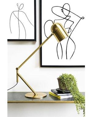 By Boo Tafellamp Sleek - Zwart of goud