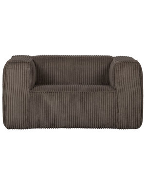 Woood Bean Fauteuil Grove Ribstof Mud