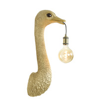 Light & Living Wandlamp Struisvogel goud of zwart