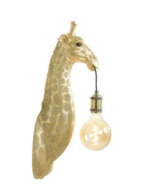Light & Living Wandlamp Giraffe goud of zwart
