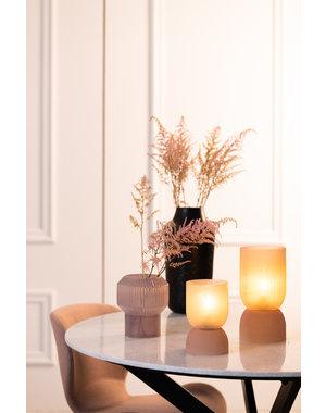 Light & Living Tafellamp LED PHOEBE glas  oud roze - Diverse afmetingen