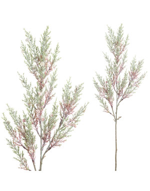 PTMD Garden Bloem Roze Groen mini juniperus tak