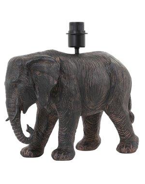 Light & Living Lampvoet 37x17x35 cm ELEPHANT antiek bruin