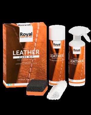 Leather Care Kit geschuurd leder