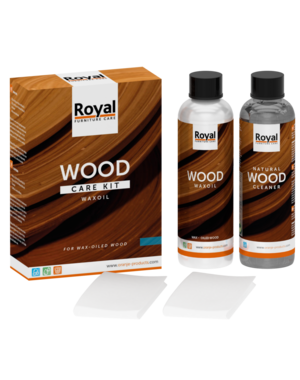 Oranje Wood Care Kit WaxOil + Cleaner 2x250ml