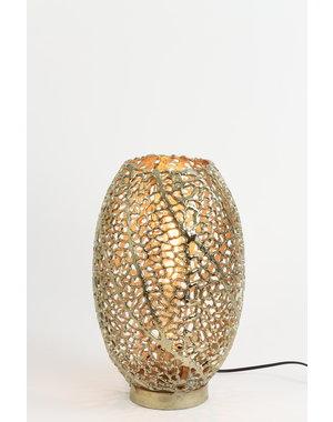 Light & Living Tafellamp Ø24x40 cm SINULA goud