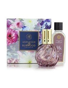 Ashleigh & Burwood Geurlamp Heritage Mauve en geurolie Velvet Plum & Cassis