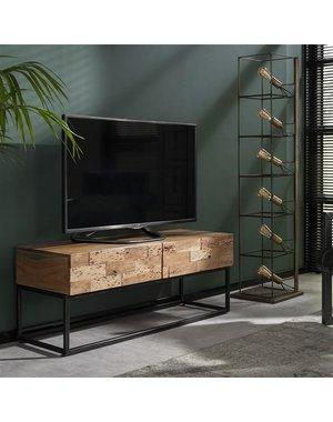 TV-meubel Mill acacia 120 cm - 2 lades