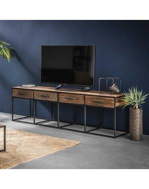 TV meubel Float hardhout 4 lades -180 cm