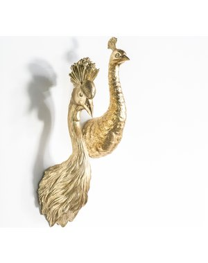 By Boo Ornament Pavo Goud of Zwart