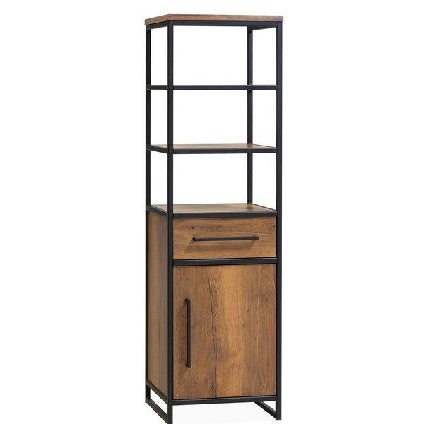 Maxfurn Boekenkast Lamulux Oriental 1 deur en 1 lade