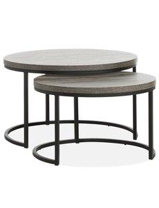Maxfurn Set van 2 salontafels Rutger groot