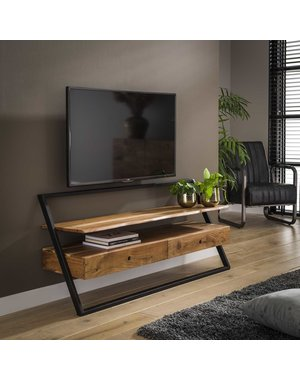 TV meubel Lean Acacia 2 lades