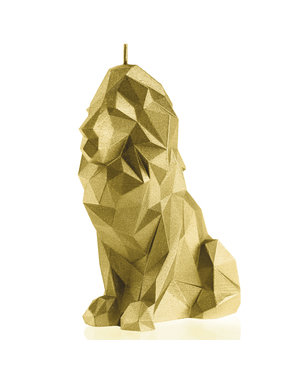 Candellana Kaars leeuw goud