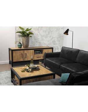 Maxfurn TV meubel Dublin Mango 177 cm - 3 deuren en 1 lade