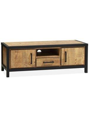 Maxfurn TV meubel Dublin Mango 136 cm - 2 deuren en 1 lade