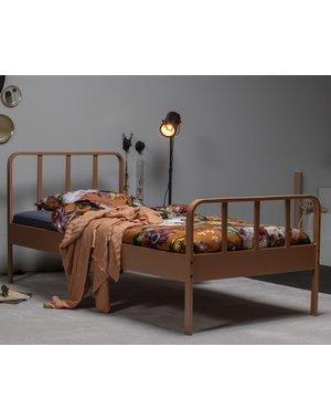 Woood Mees Bed Metaal Syrup 90x200 Cm