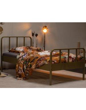 Woood Mees Bed Metaal Army 90x200 Cm